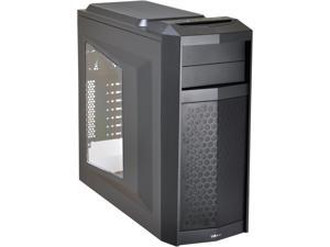 LIAN LI PC-K5WX Black SECC ATX Mid Tower Computer Case ATX PSU (Optional) Power Supply