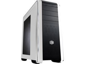 Cooler Master CM 690 III White - Mid Tower Computer Case Supporting up to Two 200mm Fans and Multiple Radiators Support