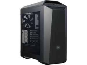 MasterCase Maker 5 Mid-Tower Case with FreeForm™ Modular System, Upgraded I/O with 3.0 Type C, Magnetic LED Strip, Magnetic Paneling, Sound Supression, and Cooling Bracket by Cooler Master