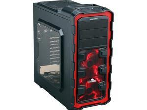 ENERMAX Ostrog GT ECA3280A-BR Black / Red Steel / Plastic ATX Mid Tower Computer Case