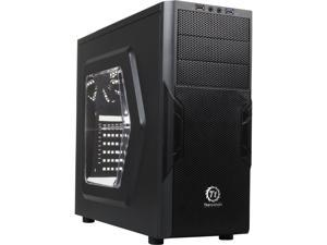 "Thermaltake Versa H22 Mid-Tower Case w/ Window CA-1B3-00M1WN-00 SPCC ATX 7 x Expansion Slots 3 x 5.25"" External Drive Bays"