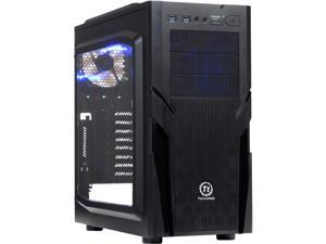 Thermaltake Commander G41/Black/Win/SECC Black SPCC ATX Mid Tower Computer Case (CA-1B4-00M1WN-00)