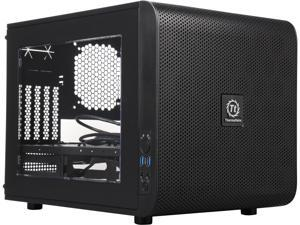 Thermaltake Core V21 Black Extreme Micro ATX Cube Chassis CA-1D5-00S1WN-00