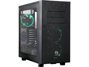Thermaltake Core X31 RGB Edition Black ATX Gaming Mid Tower Tt LCS Certified Gaming Computer Case CA-1E9-00M1WN-02