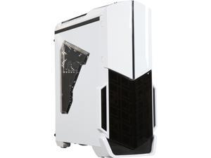 Thermaltake Versa N21 Snow SPCC Mid Tower Gaming Computer Case CA-1D9-00M6WN-00