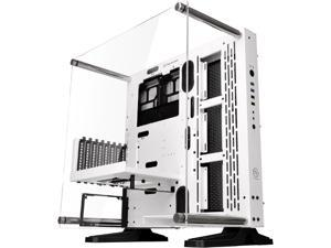 Thermaltake Core P3 SE Snow ATX Open Frame Panoramic Viewing Tt LCS Certified Gaming Computer Case w/o Riser Cable CA-1G4-00M6WN-02