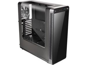 Thermaltake View 27 Black ATX Gull Wing Window Tt LCS Certified Gaming Mid Tower Computer Case CA-1G7-00M1WN-02