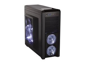 Corsair Carbide Series 500R Black Steel structure with molded ABS plastic accent pieces ATX Mid Tower Computer Case Compatible with ATX (not included) Power Supply