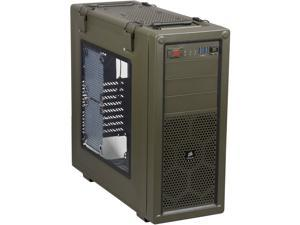 Corsair Vengeance Series C70 (CC-9011018-WW) Military Green Steel ATX Mid Tower Mid-Tower Gaming Case Compatible with ATX Power Supply