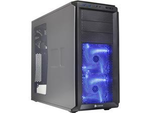 Corsair Graphite Series 230T CC-9011040-WW Grey on Black with BLUE LED fans Computer Case
