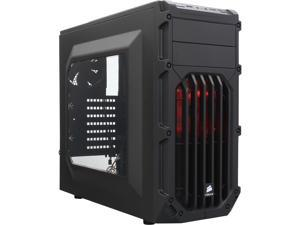 Corsair SPEC-03 ATX Mid Tower Gaming Computer Case Chassis with Power Supply (Black)