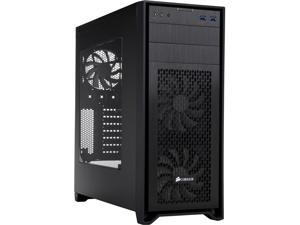 Corsair Obsidian Series 450D Black Brushed Aluminum and Steel ATX Mid Tower Gaming Computer Case ATX Power Supply