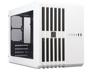 Corsair Carbide Series CC-9011069-WW Arctic White Steel MicroATX Mid Tower Air 240 High Airflow MicroATX and Mini-ITX PC Case ATX Power Supply