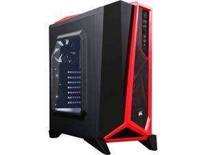 Corsair Carbide Series CC-9011085-WW Black/Red Steel ATX Mid Tower SPEC-ALPHA Mid-Tower Gaming Case ATX (not included) Power Supply