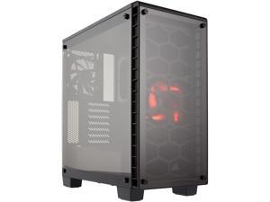 Corsair Crystal Series 460X - Tempered Glass, Compact ATX Mid-Tower Case