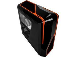 NZXT Phantom 410 Series CA-PH410-B3 Black/Orange Steel / Plastic ATX Mid Tower Orange Trim Computer Case