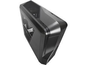 NZXT Phantom 410 Series CA-PH410-G1 Gunmetal Steel / Plastic ATX Mid Tower Black Trim Computer Case