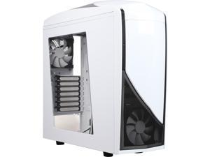 NZXT RB-CA-PH240-W1 White Steel / Plastic ATX Mid Tower Computer Case