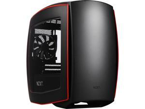 NZXT Manta, Matte Black/Red, All Steel, Mini-ITX Computer Case