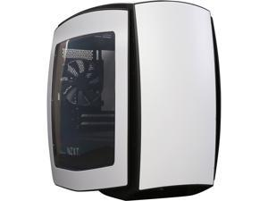 NZXT Manta, Matte White/Black, All Steel, Mini-ITX Computer Case