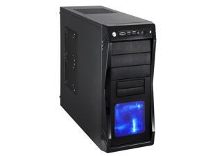 Rosewill Computer Case - ATX Mid Tower - Black, Gaming - Three Included Fans - Two Extra Side Fans Supported - CHALLENGER