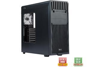CASE ROSEWILL  HIMARS ATX Mid Tower Gaming Computer Case, Front Hot-swap HDD Cage, Side-window Panel, comes with two fans pre-installed - Front 140 mm Fan x 1, Rear 120 mm Fan x1 -Retail