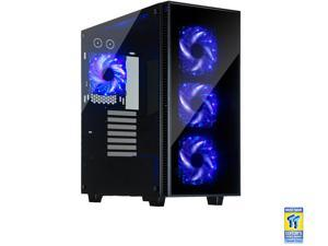 Rosewill ATX Mid Tower Gaming Case With Tempered Glass Panels - CULLINAN