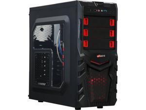 LOGISYS Computer CS380BK Black Computer Case 480W Power Supply