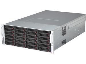 SUPERMICRO CSE-847E16-R1400UB Black 4U Rackmount Server Chassis
