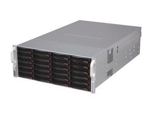 SUPERMICRO CSE-847E1-R1400LPB Black 4U Rackmount Server Case