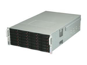 SUPERMICRO CSE-847E26-R1400LPB Black 4U Rackmount Server Case