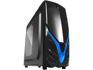 RAIDMAX Viper II ATX-A07WBU Black/Blue Steel / Plastic ATX Tower Computer Case