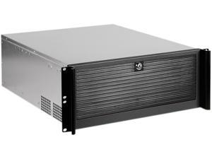 iStarUSA D-416 Black Aluminum / Steel 4U Rackmount Compact Stylish Chassis