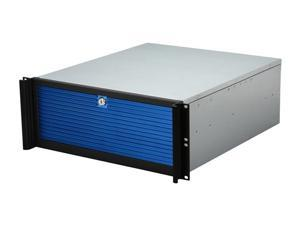 iStarUSA D-416-BLUE 4U Rackmount Compact Stylish Server Chassis - OEM