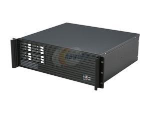 iStarUSA D313SEMATX-2B126SA Black 3U Rackmount Compact Server Case - OEM