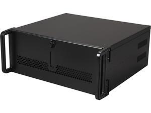 "iStarUSA E-40 Black 4U Rackmount Rugged 15"" Compact Chassis"