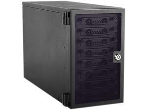 "iStarUSA EAGE8402TG-2MS 8-bay 2.5"" SAS/SATA 6.0 Gb/s miniSAS Hotswap Tower"