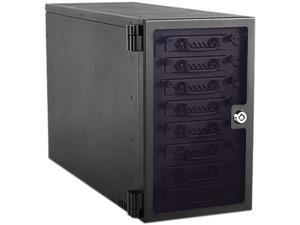 "iStarUSA EAGE8402TG-SAU3 8-bay 2.5"" SATA 6.0 Gb/s eSATA USB3.0 Hotswap JBOD Tower"