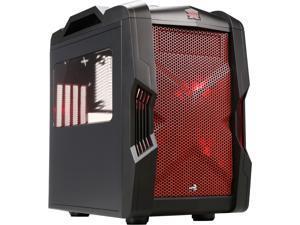 AeroCool StrikeX Cube Red Steel Mini-ITX Cube Computer Case