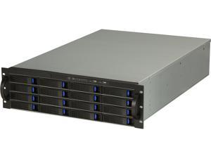 NORCO RPC-3216 Black 3U Rackmount Server Chassis
