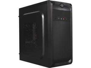 TOPOWER TP-2001BB-500 Black ATX Mid Tower with 500W Power Supply