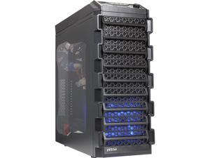 MSI IN565-A650 (Blitz) Black Steel ATX Mid Tower Computer Case 650W Seasonic Power Supply
