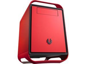 BitFenix Prodigy M Window Side Panel Computer Case, Red, BFC-PRM-300-RRWKK-RP, Micro ATX / Mini-ITX Form Factor, Compatible with ATX PSU