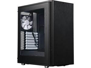 Fractal Design Define C Black Window Silent Compact ATX Mid Tower Computer Case