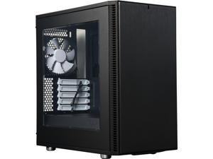 Fractal Design Define Mini C Black Window Silent Compact MATX Mini Tower Computer Case