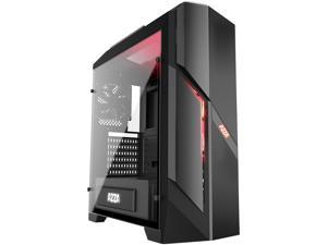 AZZA Photios 250 CSAZ-250 Black ATX Mid Tower Tempered Glass Side Panel Computer Case