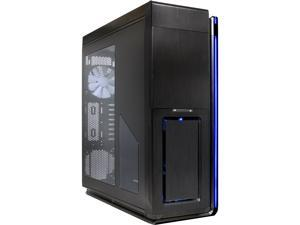 Phanteks Enthoo Primo Series PH-ES813P_BL Black w/ Blue LED Aluminum faceplates / Steel chassis ATX Full Tower Computer Case