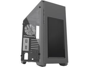 Phanteks ENTHOO Pro M PH-ES515PA_AG Anthracite Gray Steel / Plastic/Full Size Acrylic Window ATX Mid Tower Cases