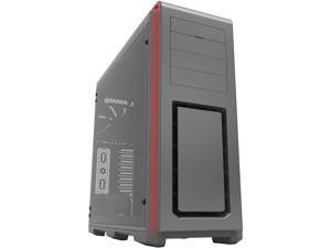 Phanteks Enthoo Luxe PH-ES614LTG_AG Black Aluminum Faceplates Tempered Glass Panel Steel Chassis ATX Full Tower Computer Case with RGB Illumination