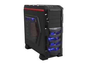 CFI Pharaoh CFI-A1168 Black Computer Case With Side Panel Window